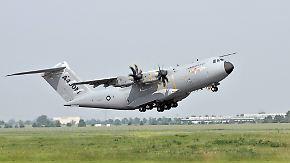 Pannenserie lässt Gewinn einbrechen: A400M verhagelt Airbus die Jahresbilanz