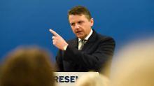 Stephan Sturm stellt in Bad Homburg die Bilanz vor.