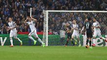 Hängende Gesichter bei Porto, Jubel bei den Turinern: Innerhalb von zwei Minuten war die Partie entschieden.