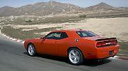 Dodge Challenger SRT8: Der Fluchtwagen