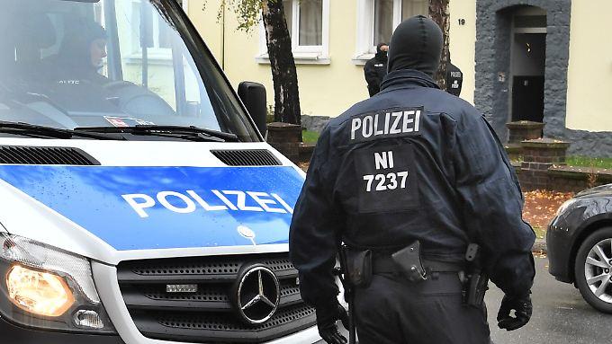 Anti-Terror-Einsatz der Polizei in Niedersachsen.