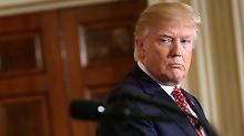 Toiletten-Debatte in USA: Trump hat ein Transgender-Problem