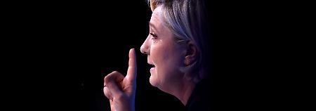 Höhenflug einer Populistin: Marine Le Pen schadet einfach nichts