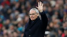 Neun Monate nach Sensationssieg: Leicester feuert Meister-Trainer Ranieri