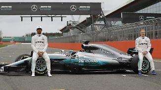 Silber-Bolide mit Detail: Mercedes stellt neuen Silberpfeil vor