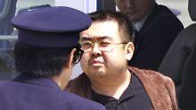 Kim Jong Nam vergiftet: Südkorea: Mord war Chemiewaffeneinsatz