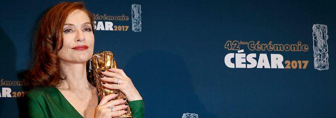 Ihr sieht man die 63 Jahre nun wirklich nicht an: Isabelle Huppert