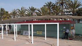 """Balneario 6"" heißt jetzt ""Beach Club Six""."