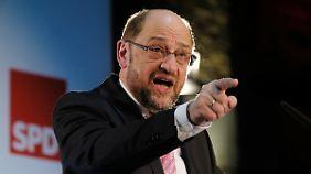 Agenda 2010 im Visier: Hype um Schulz macht Union nervös