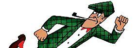 """Kombiniere!"": Nick Knatterton,Meisterdetektiv."