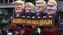 Eindeutiges Motto in Düsseldorf.