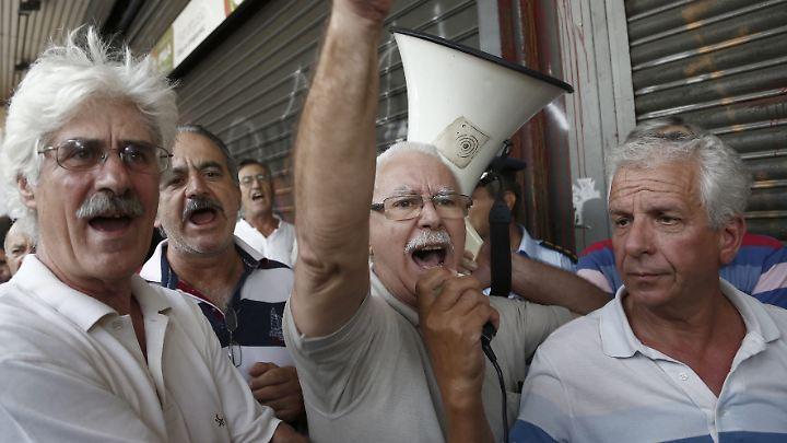 Griechenlands Rentner haben schon mehrere, teils drastische Sparrunden hinter sich.