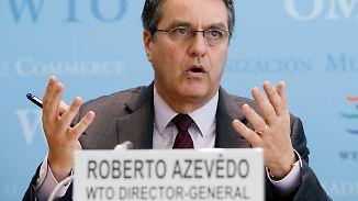 Warnung vor Handelskrieg: WTO ist besorgt über Trumps Politik