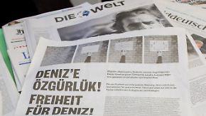 """""""Erdogan weitet seine Grenzen aus"""": U-Haft für """"Welt""""-Korrespondent Yücel sorgt für Empörung"""