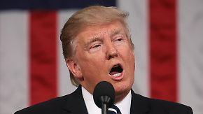 Rede ohne Überraschungen: Trump schlägt vor US-Kongress versöhnliche Töne an