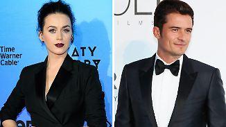 Promi-News des Tages: Katy Perry und Orlando Bloom legen Beziehung auf Eis