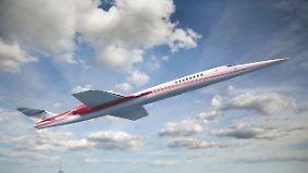 London-New York in unter vier Stunden: Neuer Überschall-Jet Aerion AS2 soll 2023 abheben