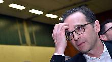 """""""Abbau des Rechtsstaats"""": Maas schreibt türkischem Minister Brandbrief"""