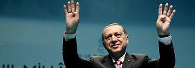 Massive Vorwürfe gegen Berlin: Erdogan wirft Reporter Yücel Spionage vor