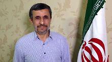 """""""Frieden, Liebe und beste Grüße"""": Ahmadinedschad taucht bei Twitter auf"""