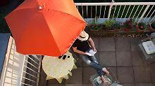 Sommerfrische auf dem Balkon