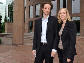 Ebenfalls angeklagt: Meike und Lars Schlecker.
