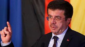 Diplomatische Spannungen halten an: Türkischer Wirtschaftsminister wird in Köln gefeiert