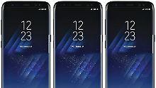 Leistungs-Biest im Benchmark: Galaxy S8 zeigt Schönheit und Stärke