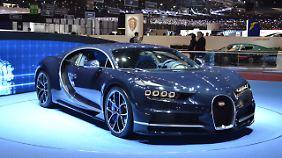 Der Bugatti Chiron mit 1500 PS.