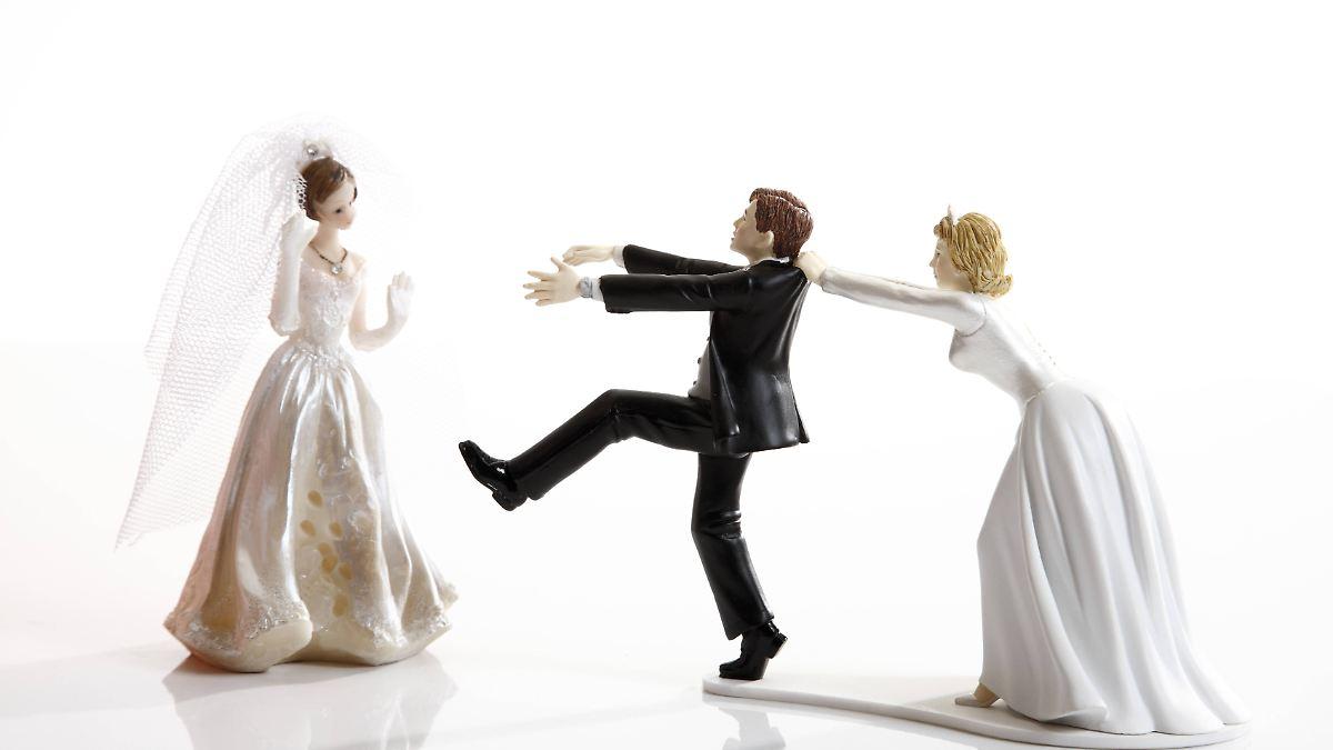Acht Irrtümer über die Scheidung