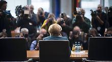 """Merkel vor dem Abgas-Ausschuss: """"Motivforschung ist nicht meine Aufgabe"""""""