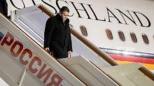 Besuch in Moskau: Gabriel warnt vor neuem Kalten Krieg