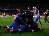 Wankt das Projekt PSG?: Barcelona feiert das 6:1