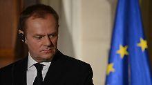 Polens Regierung will eine zweite Amtszeit von Donald Tusk unbedingt verhindern.