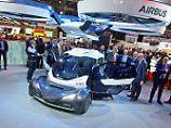 Airbus und Giugiaro zeigen auf dem Genfer Auto Salon ein Flugauto namens Pop.up.