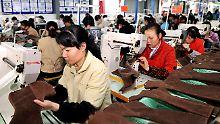 Großbritannien schaut beim Import chinesischer Textilien unter Wert offenbar schon seit Jahren weg.