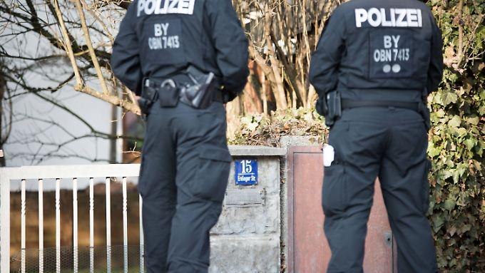 Razzia gegen Reichsbürger im Februar 2017.