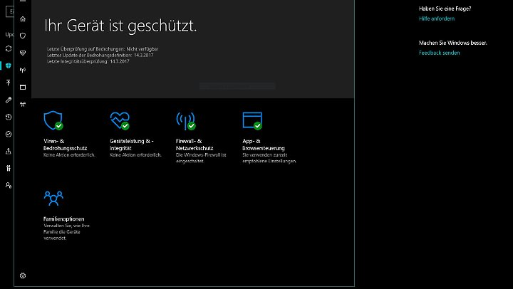 Windows Defender ist jetzt ein aufmerksamerer Wächter.