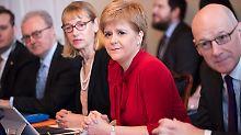Schottlands Regierungschefin Nicola Sturgeon wird einer Umfrage zufolge mit ihrem Streben nach Unabhängigkeit keinen Erfolg haben.