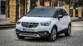 Der Opel Crossland X ist eigentlich bis auf das Logo ein Peugeot.