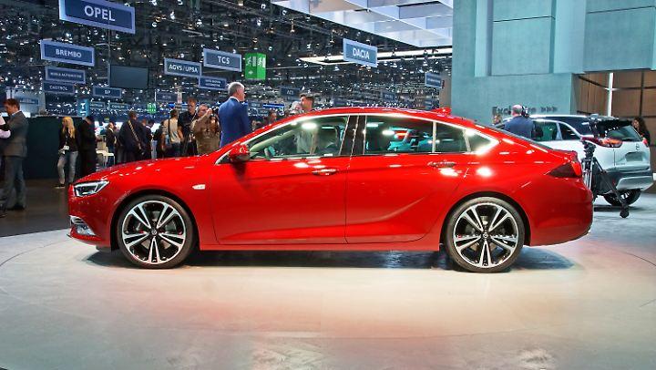 Auch der neue Opel Insignia könnte den Franzosen ein Dorn im Auge sein.