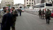Attentat im Justizpalast: Dutzende Tote bei Anschlägen in Damaskus