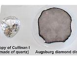 Größter synthetischer Klunker: Diamantforscher stellen 155-Karäter her