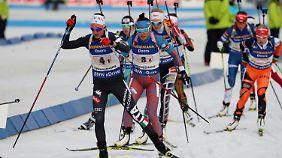 Biathlon-Wettkampf im März 2017 in Pyoengchang.