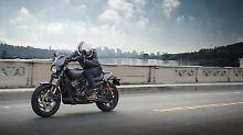 Als neues Einstiegsmodell soll die Harley Davidson Street Rod die glücklose Street 750 ablösen.
