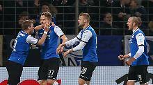 Braunschweig erhält die Hoffnung: Bielefeld siegt ohne Kramny