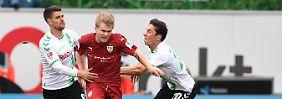2. Bundesliga im Überblick: Stuttgart und H96 patzen im Aufstiegsrennen