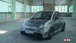 Fiat 500 auf Steroiden: Abarth greift beim 695 Biposto tief in die Trickkiste