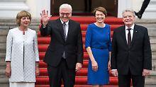 Gauck übergibt Schloss Bellevue: Steinmeier startet ins Bundespräsidentenamt