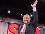100 Prozent der gültigen Stimmen: Martin Schulz zum neuen SPD-Chef gewählt